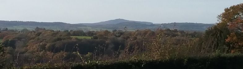 View of Moel Famau
