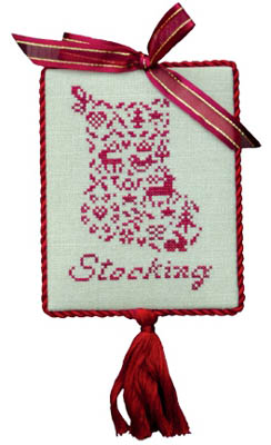 #173  French Country - Petite Stocking