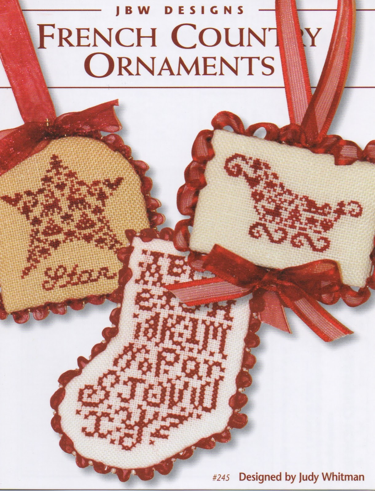#245 French Country Ornaments