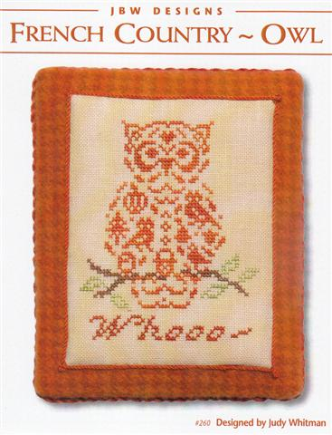 #260 French Country Owl