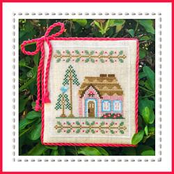 Pink Forest Cottage, Welcome to the Forest by Country Cottage Needleworks