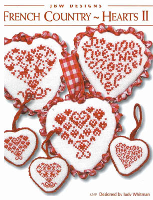 #249 French Country Hearts by JBW Designs