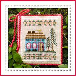 Blue Forest Cottage : Welcome to the Forest by Country Cottage Needlework