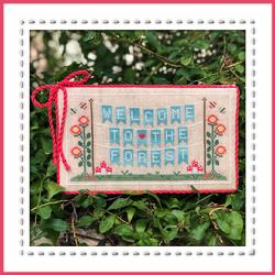 Forest Banner : Welcome to the Forest  by Country Cottage Needlework