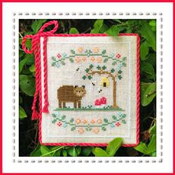 Forest Bear : Welcome to the Forest by Country Cottage Needlework
